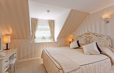 Photo of one of our luxurious, comfortable rooms